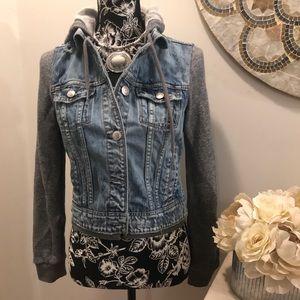 American Eagle 🦅 Sweatshirt denim jacket